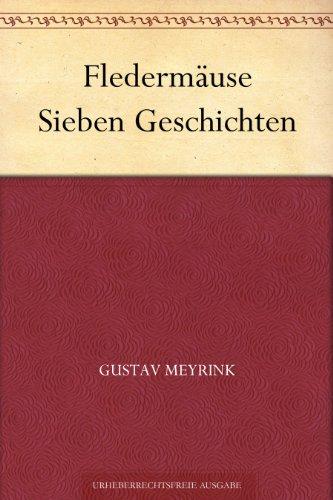 Couverture du livre Fledermäuse Sieben Geschichten (German Edition)