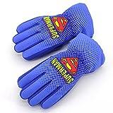 Guantes de nieve para niños Superman, guantes de esquí de invierno Wopin-Superman, térmicos,...