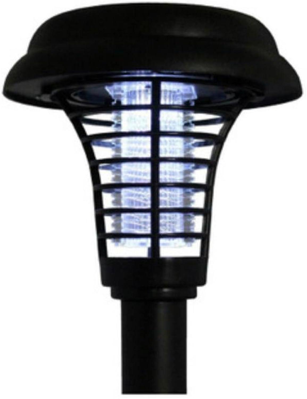 GRFH Outdoor-Anti-Mosquito-Lampe Solar-Mosquito-Abwehr-Lampe Innenhof eingefügt Boden Rasen Square Kill Insekt Lampe Wasserdicht