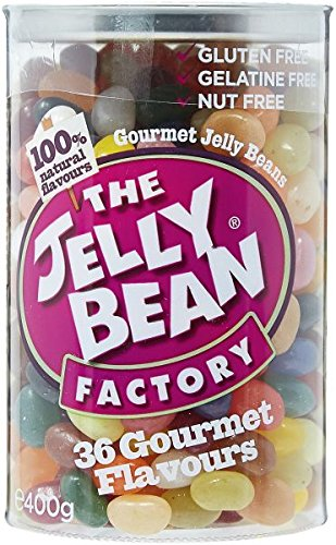 Jelly bean factory gourmet beans 36 flavours 400 g