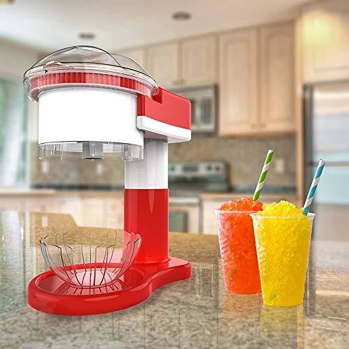 ZRXRY Eiscrusher Ice Crusher Maschine, Schnee-Kegel-Maschine und Slushy Maschine für den Heimgebrauch, Aufsatz- Elektro Ice Shaver/Chipper mit Cup