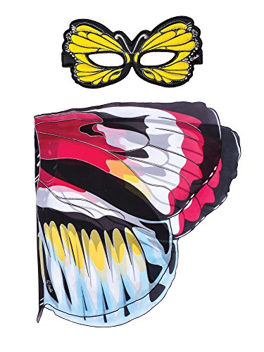 Dreamy Dress-Ups 66445 Mask + Wings, vleugels + masker, Piano Key Butterfly, vlinder heliconius melpomene, vlinder heliconius melpomene
