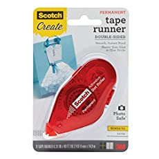 Image of Scotch Tape Runner Red. Brand catalog list of Scotch Brand. Rated with a 4.8 over 5