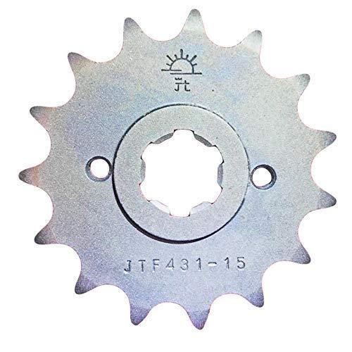 PE400 T X 80 81/XT250 TL 83 84 Pignon avant 15 Dents 520 Épaisseur JTF431.15