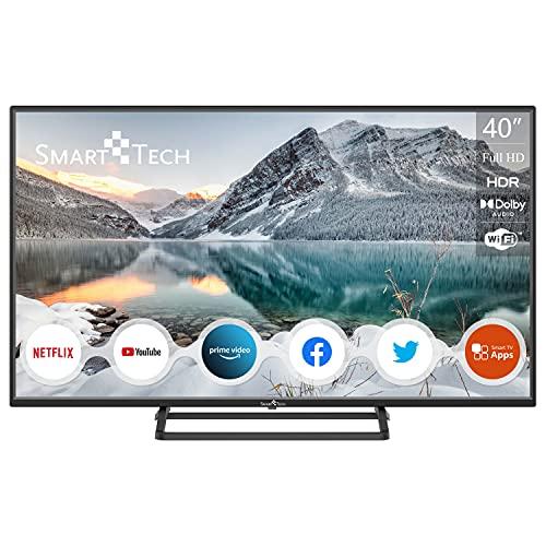 "Smart Tech 40"" FHD Smart TV, Netflix&Youtube&Prime Video SMT40N30FV1U1B1"