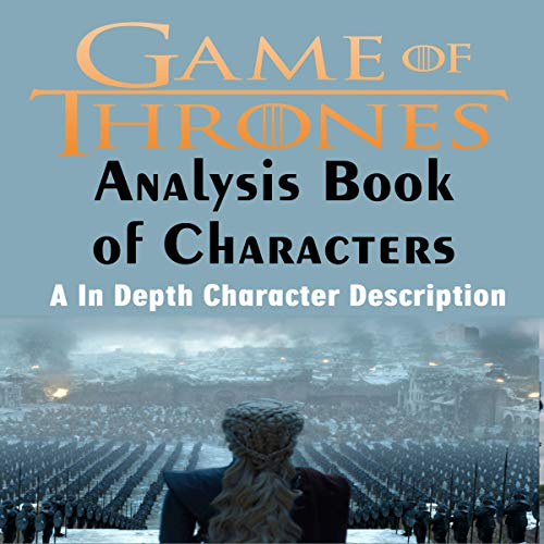 Page de couverture de Game of Thrones Analysis: Book of Characters