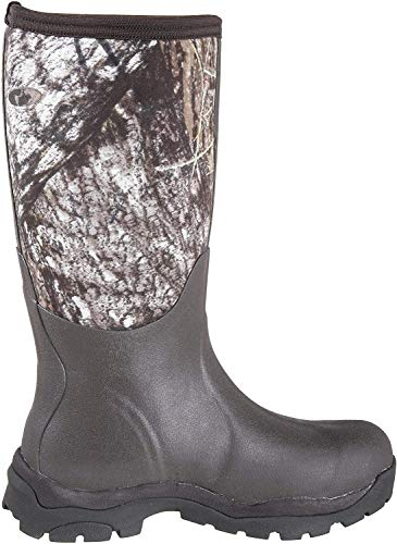 Muck Woodymax Rubber Insulated Womens Hunting Boots, Camo, 11