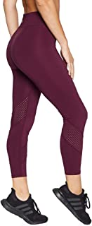 Rockwear Activewear Women's Ag Perforated Wrap Around Tight from Size 4-18 for Ankle Grazer High Bottoms Leggings + Yoga P...