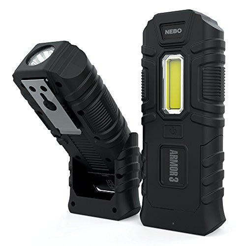 Lampe de poche Armor3 - Indestructible - Étanche - Résistant aux chocs - 360 lumens - Lampe de travail