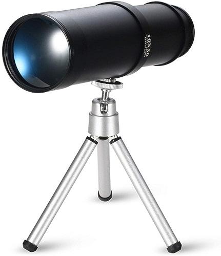 ZHAOJWYJ Monoculaire, HD avec Support, Observation des Oiseaux en Plein Air 10X50