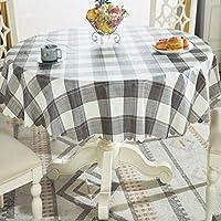 円形のテーブルクロス、台所レストランの会議のテーブルの装飾のためのポリ塩化ビニールの防水および耐油性を洗浄する必要性無し (色 : F f, サイズ さいず : 70'' Round)