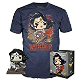 Funko DC Jim Lee Pop! & Tee Box Wonder Woman heo Exclusive Size M Comics Shirts