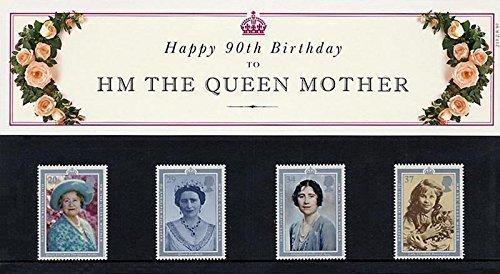 1990 HM The Queen Mutter, Aufschrift