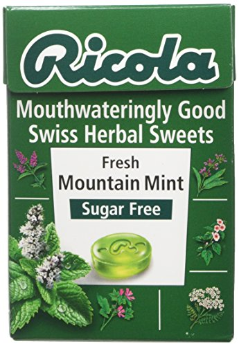 Ricola Fresh Mountain Mint Box Sweets 45 Gram (Pack of 10)