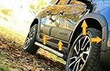 Boa Line - Kit de carrocería ABS para guardabarros y puerta, compatible con Dacia Duster de 2018 en adelante.