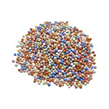 4LBS Clay Pebbles Gardening Ceramsite Orchid Hydroponic Grow Media Clay Rocks Drainage Water Purification Ceramsite Decor Cultivation Soil Stone Horticultural Grade for Soil Hydroponics Aquaponics