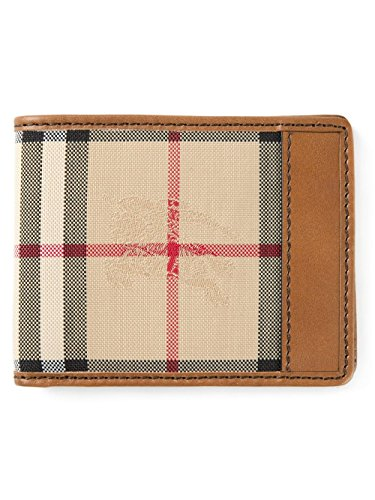 Burberry Bi-fold Horseferry Checked Men's Wallet