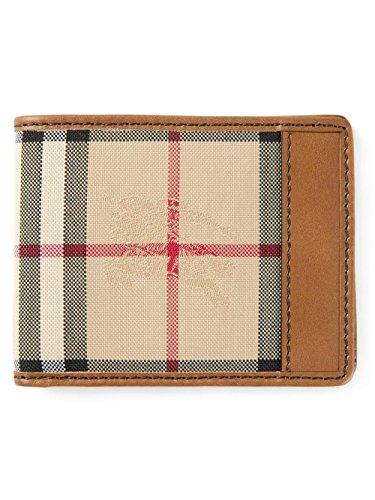 Burberry Bi-fold Horseferry Checked Men's Wallet