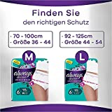 Always Discreet Inkontinenz-Höschen Plus Spar-Paket bei Blasenschwäche, Größe M, 36 Höschen (4 Packungen x 9 Stück) - 2