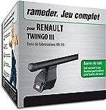 Rameder Pack Barres de Toit Tema pour Renault TWINGO III (138380-13195-2-FR)