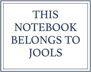 This Notebook Belongs to Jools
