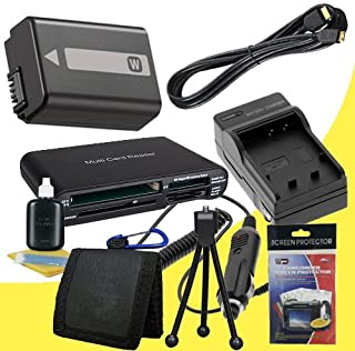 D3200 External Rapid Charger Memory Card Wallet 52mm Wide Angle // Telephoto Lenses Deluxe Starter Kit Dav D5100 Digital SLR Cameras EN-EL14 Fully Decoded Replacement Lithium Ion Battery SDHC Card USB Reader 52mm 3 Piece Filter Kit Nikon D3100