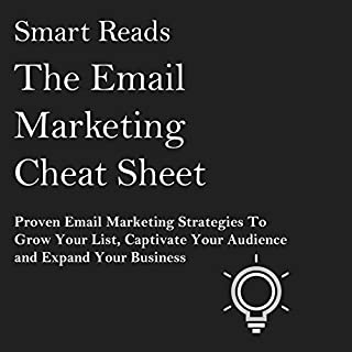 The Email Marketing Cheat Sheet audiobook cover art