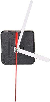 Muccus Silent Mode Essential Quartz time Clock Movement Repaired Parts White Hands Movement Mechanism DIY Repair