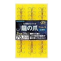 シマノ(SHIMANO) 鮎・渓流用品龍の爪 TypeA しわり 3本錨 30組 7号 RG-A24N