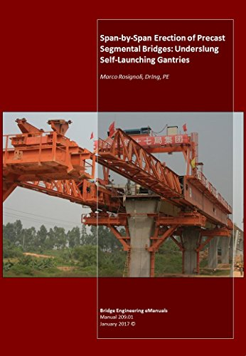 Span-by-Span Erection of Precast Segmental Bridges: Underslung Self-Launching Gantries