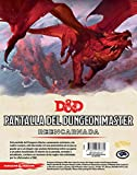 Dungeons & Dragons- Pantalla del Dungeon Master Reencarnada - Español, Color (Edge Entertainment EEWCDD04)