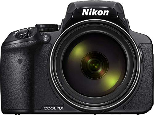 "Nikon Coolpix P900 Fotocamera Digitale Bridge, 16 Megapixel, Zoom 83X, VR, LCD 3"", Full HD, Wi-Fi, GPS, GLONASS, QZSS, Colore Nero"