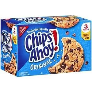 チップおーいクッキー-3-18.2 オンスパック Chips Ahoy Cookies - 3-18.2oz packs 海外直送