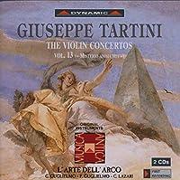 タルティーニ:ヴァイオリン協奏曲集 13 (グリエルモ/ラツァリ/ラルテ・デラルコ)