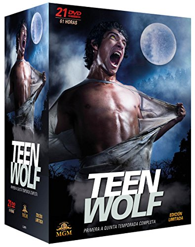 Pack Teen Wolf - Primera a Quinta Temporada Completa [DVD]