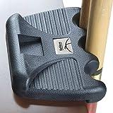 BALIKEN Cue Rest Weighted Billiards 2/3/4 Pool Cues Holder/Nicks Sticks/cue Stick case (3-Cue)