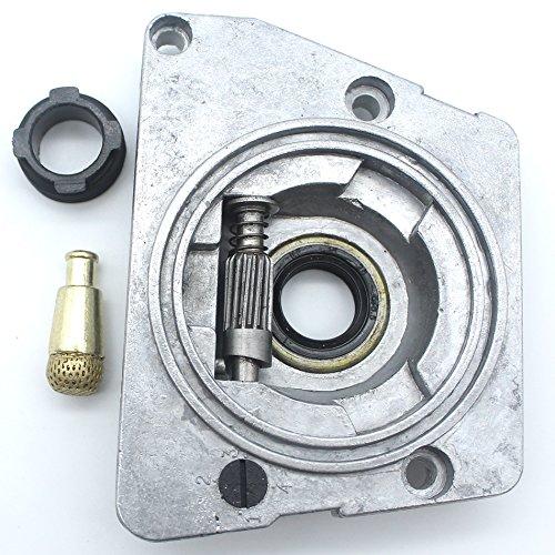 Aceite bomba aceite aceite aceite engranaje gusano filtro ajuste Husqvarna 61 66 266 268 272 268XP 272XP Motosierra piezas de repuesto