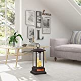 """Duraflame 28"""" Electric Lantern with Infrared Heat and Remote Control, Bronze Heaters, 02"""