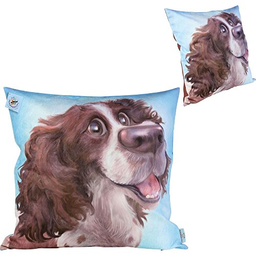 Pets With Personality 5802 Springer Spaniel Dog Cushion