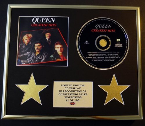 Queen/CD Display/Limitierte Auflage, Coa/Great Hits