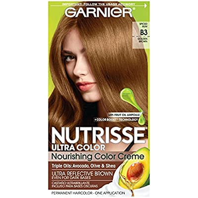 Garnier Nutrisse Ultra Color Nourishing Permanent Hair Color Cream, (Packaging May Vary)