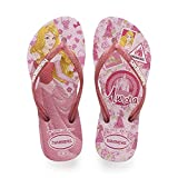Havaianas Slim Princess, Chanclas para Niñas, Multicolor (Rose Quartz 2108), 35/36 EU