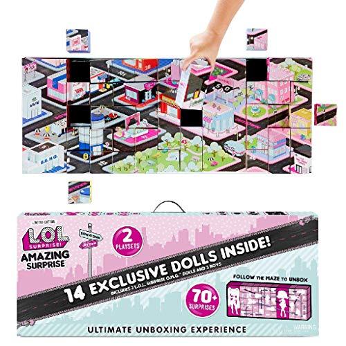 L.O.L. Surprise! Amazing Surprise with 14 Dolls & 70+ Surprises