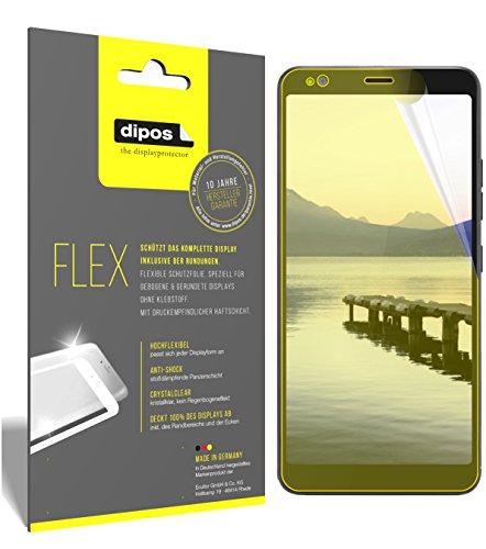 dipos I 3X Schutzfolie 100prozent kompatibel mit Gigaset GS370 Plus Folie (Vollständige Bildschirmabdeckung) Bildschirmschutzfolie
