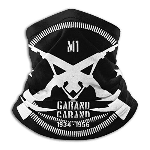 Tyyyy M1 Garand Hombres Mujeres Cuello Calentador Pañuelos Para Cubrir La Cara