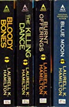 Anita Blake Vampire Hunter Set 5-8: Bloody Bones; The Killing Dance; Burnt Offerings; Blue Moon