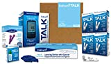 Embrace Diabetes Testing Kit including Embrace Talk Blood Glucose Meter 200 Blood Test Strips 1 Control Solution 1 Lancing Device 200 30g Lancets and Carrying Case