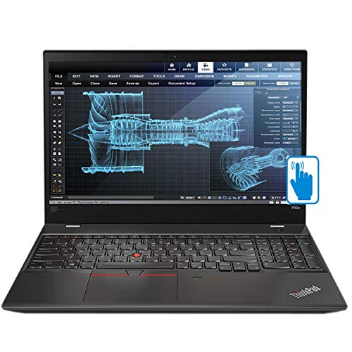 "Lenovo ThinkPad P52s 15.6"" Touchscreen School and Business Laptop (Intel 8th Gen i7-8550U 4-Core, 64GB RAM, 1TB PCIe SSD, 15.6"" FHD 1920x1080 Touch, Quadro P500, Fingerprint, dTPM, Win 10 Pro)"