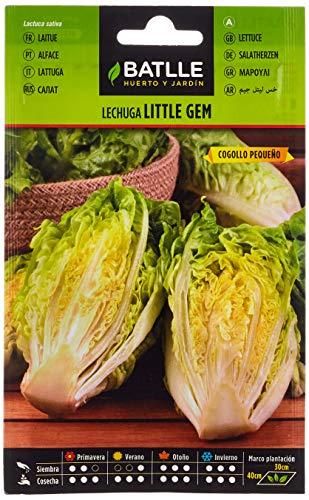 Semillas Hortícolas - Lechuga Romana Little Gem cogollo pequeño - Batlle