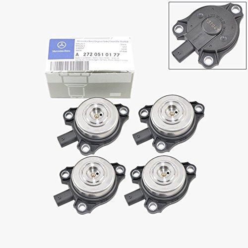 Mercedes-Benz Camshaft Cam Adjuster Magnet Intake Exhaust Genuine OE 2720510177 (4pcs)